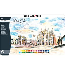 Eberhard-Faber - Farbstift Artist Color hexagonal 36er Metalletui
