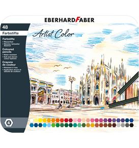 Eberhard-Faber - Farbstift Artist Color hexagonal 48er Metalletui