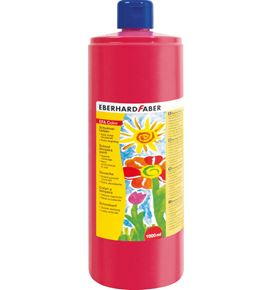 Eberhard-Faber - EFAColor Tempera 1000ml permanent karmin