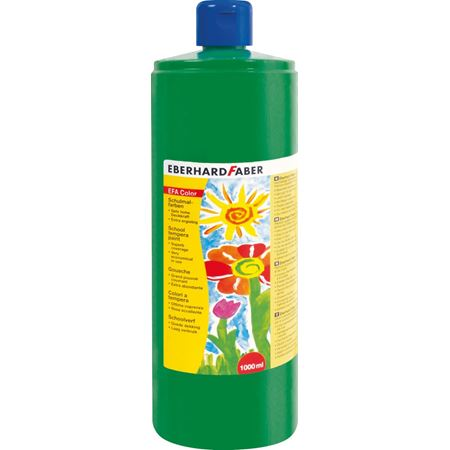 Eberhard-Faber - EFAColor Tempera 1000ml permanentgrün