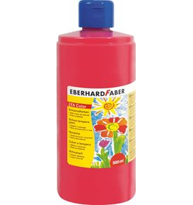 Eberhard-Faber - EFA Color Schulmalfarbe 500ml Flasche, permanent karmin