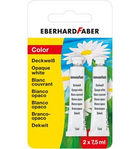 Eberhard-Faber - Deckweiss 7,5 ml 2er Set