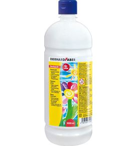 Eberhard-Faber - EFAColor Deckweiß 1000 ml Flasche