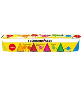 Eberhard-Faber - Tempera 6 x 25ml Set neon