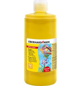 Eberhard-Faber - Fingerfarbe 500 ml Flasche pearl-gold