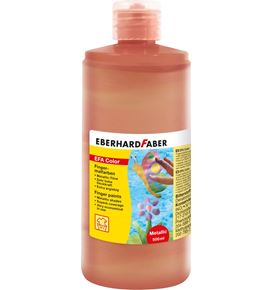 Eberhard-Faber - Fingerfarbe 500 ml Flasche pearl-rot
