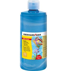 Eberhard-Faber - Fingerfarben EFA Color 500ml pearl-blau
