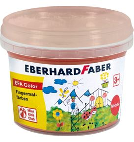 Eberhard-Faber - EFA Color Metallic Fingerfarben 100 ml Töpfchen, gold