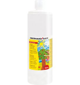 Eberhard-Faber - EFAColor Fingerfarbe 750 ml Flasche weiß