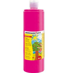 Eberhard-Faber - EFAColor Fingerfarbe 750 ml Flasche magenta hell