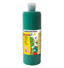Eberhard-Faber - EFAColor Fingerfarbe 750 ml Flasche permanentgrün
