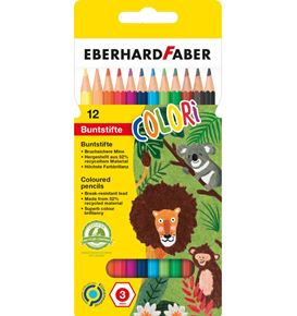 Eberhard-Faber - Colori Buntstift hexagonal 12er Kartonetui