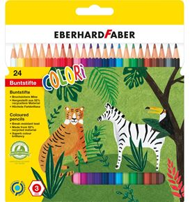 Eberhard-Faber - Colori Buntstift hexagonal 24er Kartonetui