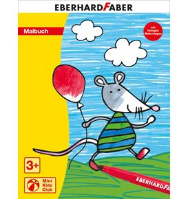 Eberhard-Faber - Mini Kids Club Malbuch