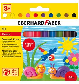 Eberhard-Faber - Mini Kids Club Supersoft Knete 10er