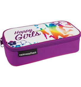 Eberhard-Faber - Jumbo Schlamperbox Happy Girls, leer