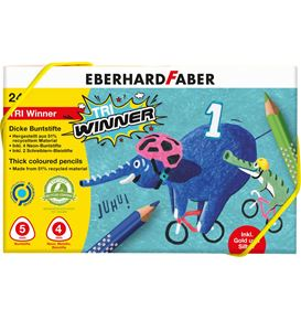 Eberhard-Faber - Buntstift TRI Winner 24er Kunststoffbox